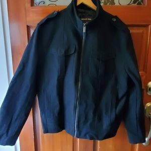 Michael Kors Black Bomber Jacket